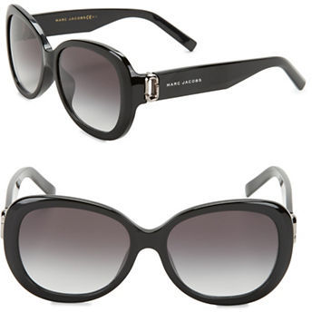 Marc Jacobs Marc Jacobs 56mm Oval Sunglasses