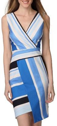 Women's Donna Morgan Asymmetrical Sheath Dress $118 thestylecure.com