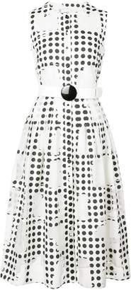Akris Punto polka-dot dress