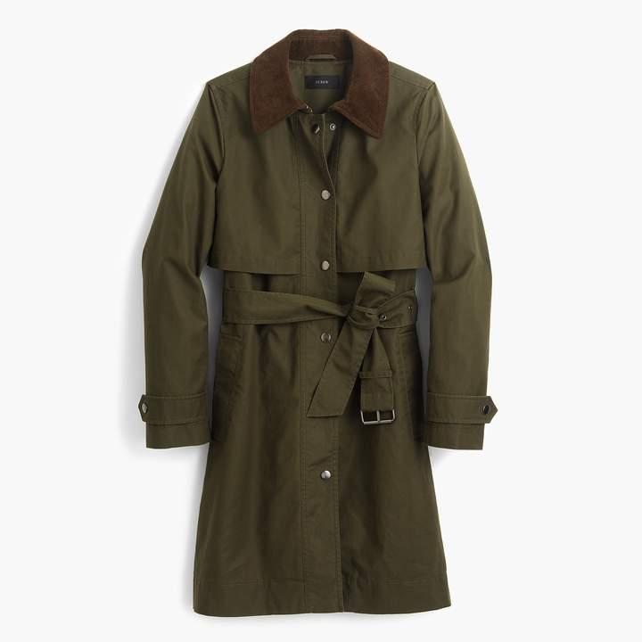 J.Crew Field trench coat