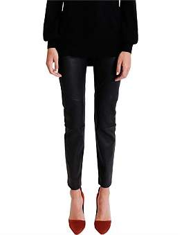 Ginger & Smart Narrative Stretch Leather Pant