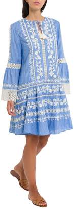 Tory Burch Dress With Allover Embroideries