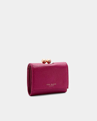 a614a14ac865 Ted Baker MACIEY Small leather bobble purse