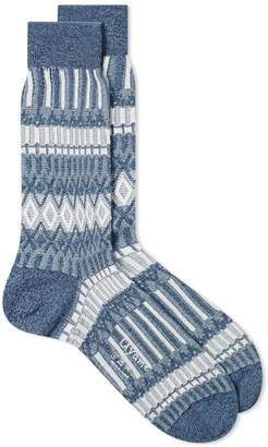 Ayame Socks Basket Lunch Pattern Sock