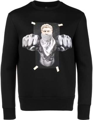 Neil Barrett Boxing Brutus sweatshirt