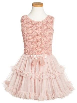 Girl's Popatu Rosebud Pettidress $44 thestylecure.com