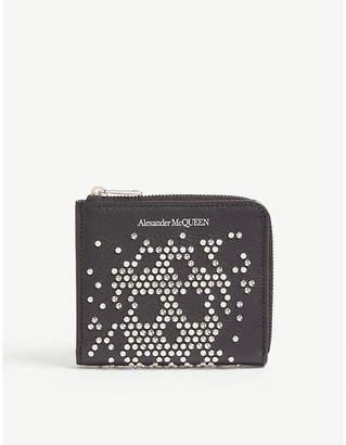 Alexander McQueen Studded skull purse