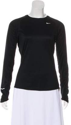 Nike Long-Sleeve Crew-Neck Top