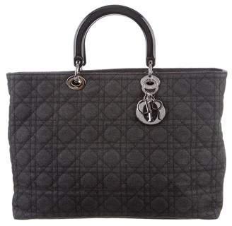 Christian Dior XL Lady Dior Bag