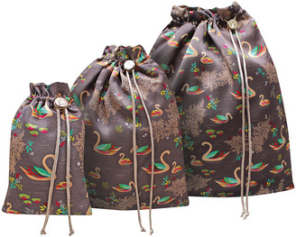 Sara Miller - Set of 3 Travel Bags - Swan