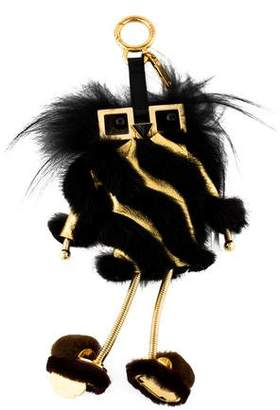 Fendi Witches Power Bank Fur Charm