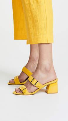 Jaggar Two Step Block Heel Sandals