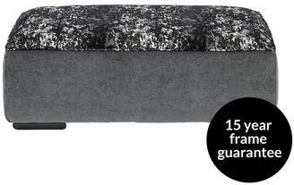 Luxe Collection - Enchant Fabric Banquette Footstool