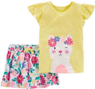 Carter's 2-pc. Skirt Set - Baby Girls