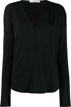 Rag & Bone long-sleeve fitted sweater
