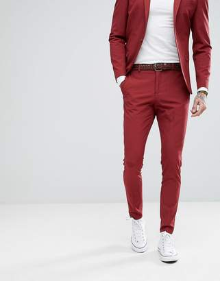Selected Super Skinny Suit Pants