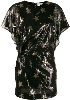 In The Mood For Love star embellished mini dress