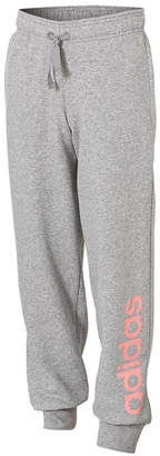 adidas Girls Essentials Linear Pants Grey 6