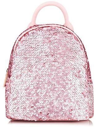 Skinnydip **sequin mini backpack