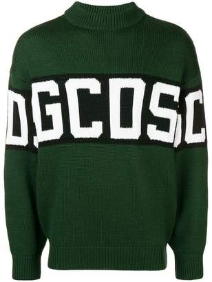 Gcds logo stripe jumper