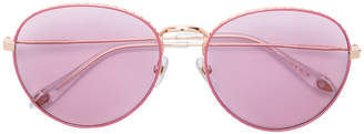 Givenchy Eyewear studded oval frame sunglasses