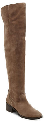 Dolce Vita Kitt Suede Over-the-Knee Boots $250 thestylecure.com