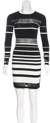 Rebecca Minkoff Stripe Knit Dress