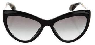 Miu Miu Resin Cat-Eye Sunglasses