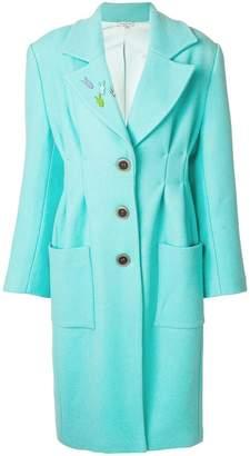 Natasha Zinko oversized nipped waist maxi coat