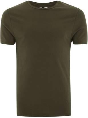 Topman Khaki Ultra Muscle T-Shirt