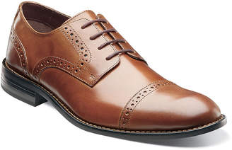 Stacy Adams Prescott Mens Cap Toe Leather Lace Oxfords