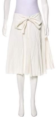 Robert Rodriguez A-Line Knee-Length Skirt