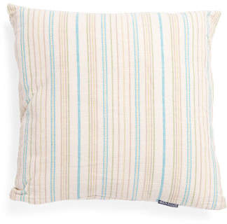 Made In India 24x24 Oversized Herringbone Pillow