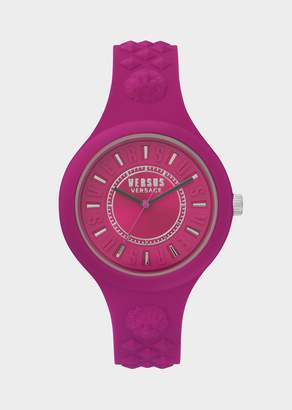 Versus Fuchsia Bicolor Fire Island Watch