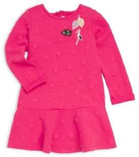 Catimini Little Girl's& Girl's Textured Flounce Dress
