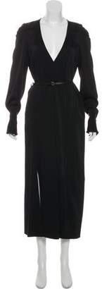 Victoria Beckham Long Sleeve Maxi Dress