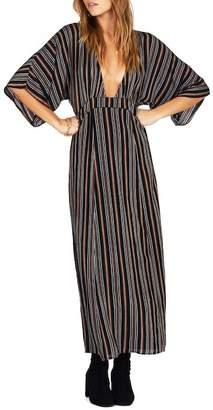 Amuse Society Forever & Day Stripe Maxi Dress
