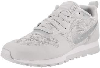 Nike Women's Md Runner 2 BR Wolf Grey/Pure Platinum/White Running Shoe 9 Women US
