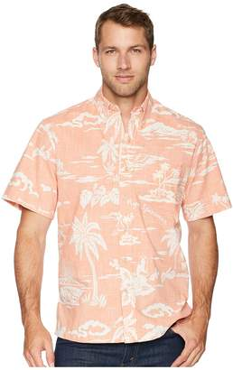 Reyn Spooner My Private Isle Classic Fit Aloha Shirt Men's Short Sleeve Button Up