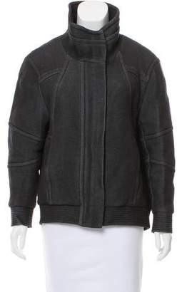 Helmut Lang Long Sleeve Knit Jacket