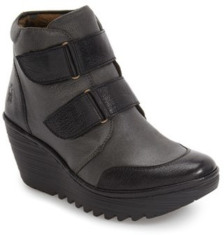 Women's Fly London 'Yugo' Wedge Bootie $219.95 thestylecure.com