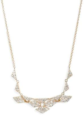 Nadri Luminous Cubic Zirconia Bib Necklace