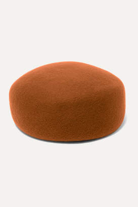 CLYDE Jeanie Wool-felt Hat