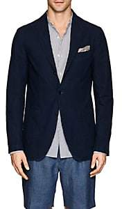 Eidos EIDOS MEN'S DENIM THREE-BUTTON SPORTCOAT-LT. BLUE SIZE 40