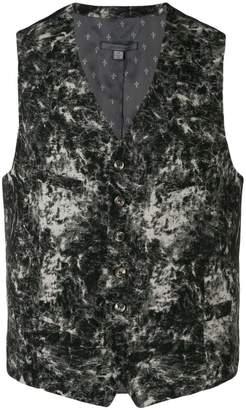 John Varvatos fade effect waistcoat