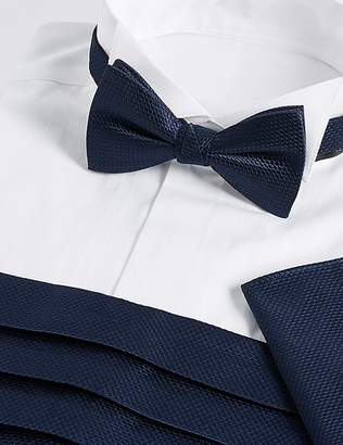 Marks and Spencer 3 Piece Bow Tie, Cummerbunds & Pocket Square Set