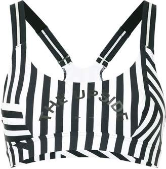 The Upside striped cropped top