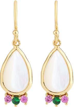 Ippolita Prisma Teardrop Cabochon Earrings in Mother-of-Pearl