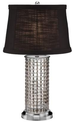 Waterford Kilrush Lead Crystal & Chrome Table Lamp