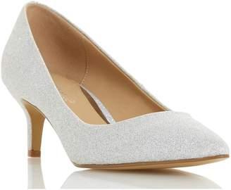 Head Over Heels Annabel Kitten Heel Court Shoes